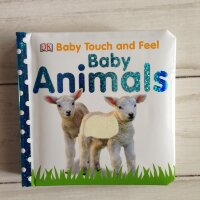 Touch&Feel   Baby Animals  (board book)
