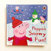 Peppa Pig: Peppa's Snowy Fun  (board book)