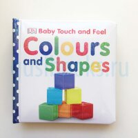 Touch&Feel   Colours and Shapes  (board book)