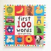 First 100 Words  (board book) BrightBaby