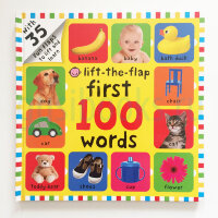 First 100 Lift The Flap Words  (board book)