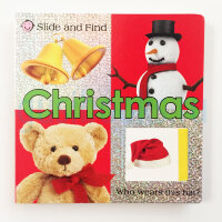 Slide and Find: Christmas (board book)