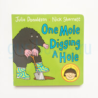 One Mole Digging a Hole  (board book)