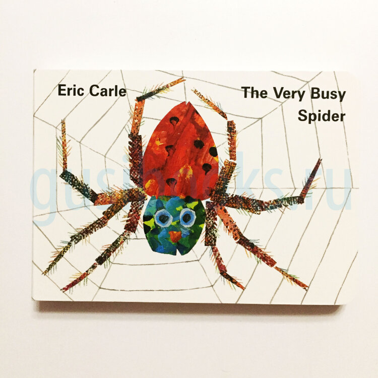 Very Busy Spider (board book)