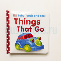 Touch&Feel   Things That Go  (board book)