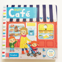 BusyBooks   Busy Cafe (board book)