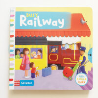 BusyBooks   Busy Railway  (Board book)