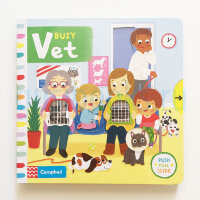 BusyBooks   Busy Vet (board book)