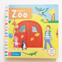 BusyBooks   Busy Zoo  (Board book)