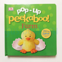 Pop-Up Peekaboo! Farm (board book)