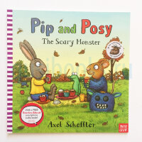 Pip and Posy: The Scary Monster  (PB)