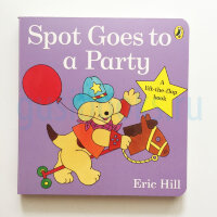 Spot Goes to a Party Lift-the-flap-book