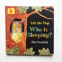 Who Is Sleeping?  (Lift-the-Flap Board Book)