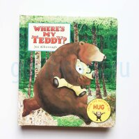 Where's My Teddy? (board book)