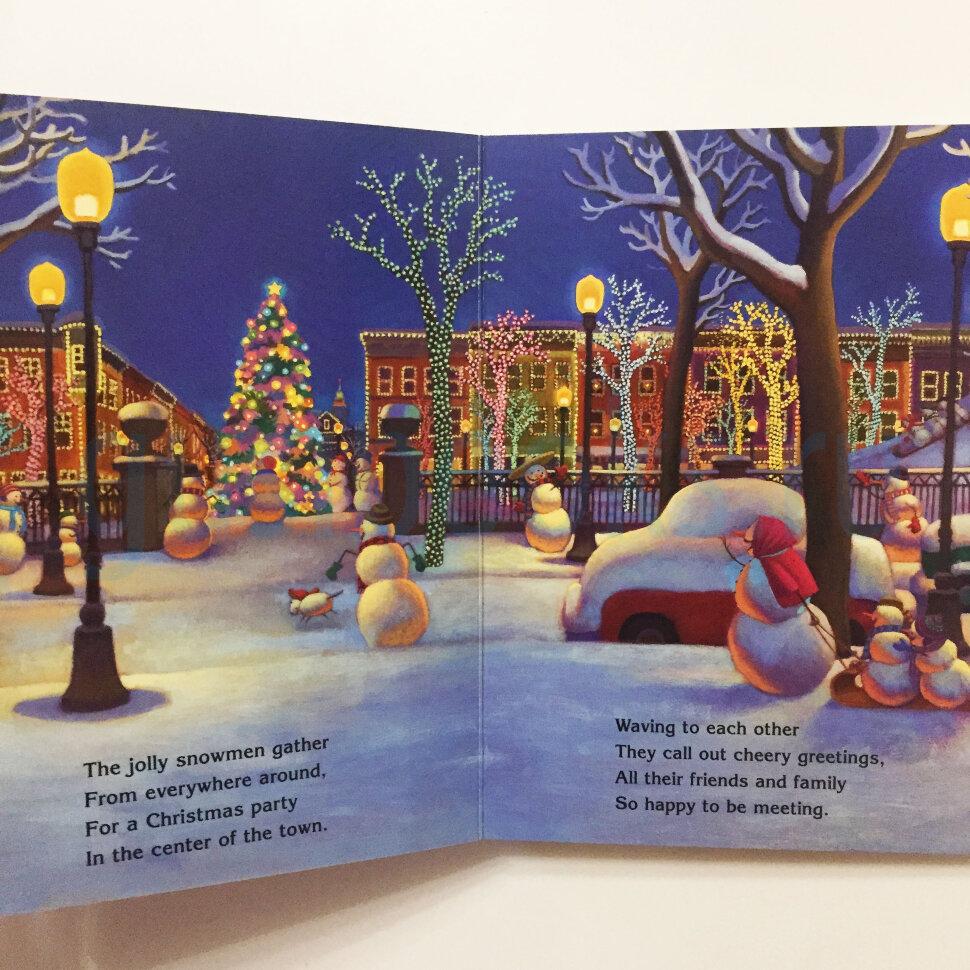 Snowmen At Christmas.Snowmen At Christmas Board Book