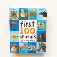 First 100 Soft to Touch Animals  (board book)
