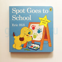 Spot Goes to School Lift-the-flap-book