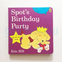 Spot's Birthday Party Lift-the-flap-book