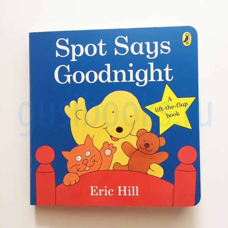 Spot Says Goodnight Lift-the-flap-book