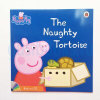 Peppa Pig: The Naughty Tortoise (Book and CD)