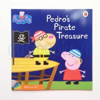 Peppa Pig: Pedro's Pirate Treasure (Book and CD)