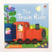 Peppa Pig:  The Train ride (Book and CD)