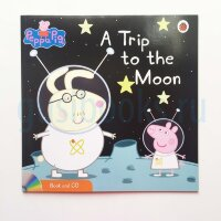 Peppa Pig: A Trip to the Moon (Book and CD)