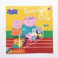 Peppa Pig: Sports Day (Book and CD)