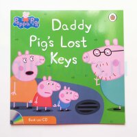 Peppa Pig: Daddy Pig's Lost Keys (Book and CD)