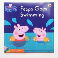 Peppa Pig: Peppa Goes Swimming (Book and CD)