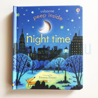 Peep Inside Night Time  (board book)