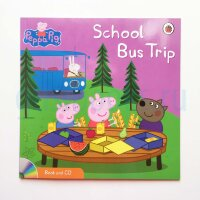 Peppa Pig: School Bus Trip  (Book and CD)