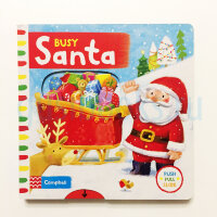 BusyBooks   Busy Santa  (Board book)