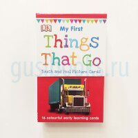 My First Things That Go (16 My First Touch & Feel Picture Cards)