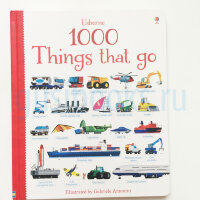1000 Things That Go (board book)