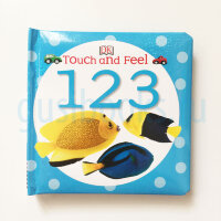 Touch&Feel   123  (board book)