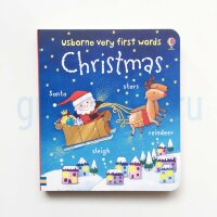 Usborne Very First Words: Christmas  (board book)