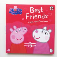 Peppa Pig: Best Friends : A Lift-the-Flap Book (КНИГА С ДЕФЕКТОМ)